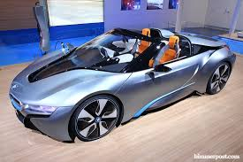 Bmw I8 Roadster - bmw i8 roadster wins north american concept car of the year award
