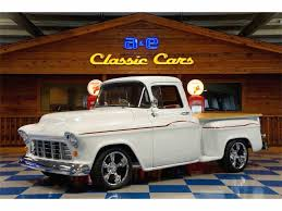 chevy truck car 1955 chevrolet pickup for sale on classiccars com