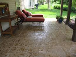How Much Is A Stamped Concrete Patio by 5 Stamped Concrete Overlay Ideas