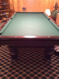 Elliptical Pool Table Moving Sale Inside Private Home In New Vernon Nj Starts On 11 17 2017
