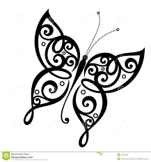 vector beautiful butterfly stock vector illustration of abstract