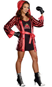 Dreamgirls Halloween Costumes Women U0027s Boxer Costume Costumes