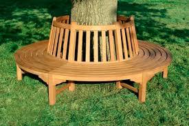 Circular Bench Around Tree Furniture King Garden Designs