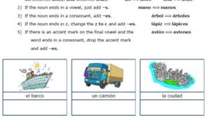 searching plurals puzzle page u2013 printable spanish