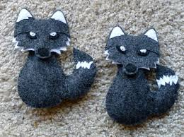 15 best felt wolf images on felt ornaments wolves and