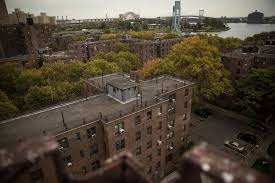 project houses officer s killing feeds fears of more violence at east harlem