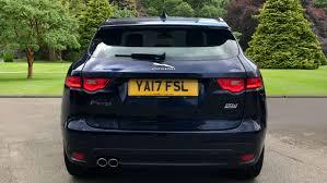 jaguar f pace trunk used jaguar f pace 2 0d r sport 5dr auto awd diesel estate for