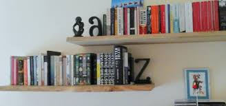 chunky solid oak floating shelves by something wood homify