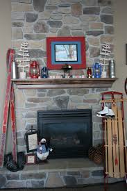 adventures of a busybee post christmas fireplace decor