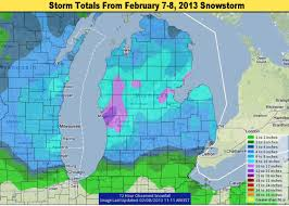 Map Of Grand Rapids Michigan by Michigan Snowstorm Weather Update And The Winner Of Top Snowfall