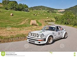porsche rally rally car porsche 911 2 4 gr 4 editorial image image 74015940