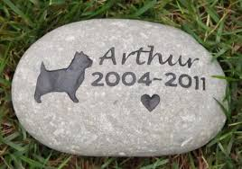 memory stones cairn terrier pet memorial 9 10 inch cairn terrier memory