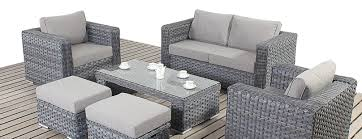 woven patio furniture grey rattan patio furniture