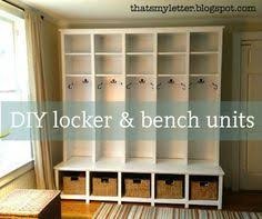 diy kids lockers with a household of kids a storage locker like this in the