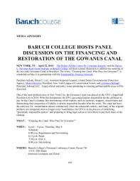 i ii approval of minutes baruch college
