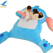 discount fancytrader portable lilo u0026 stitch sleeping bag bed sofa