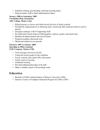 Sample Resume For Office Staff Position by Clerical Resume Examples Printable Clerical Resume Picture Medium