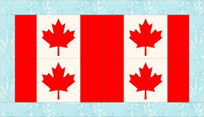 Candaian Flag Daydreams Of Quilts Canadian Flag Pillow Or Table Runner Tutorial