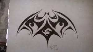 batman logo tribal tattoo design by 16roseblack on deviantart