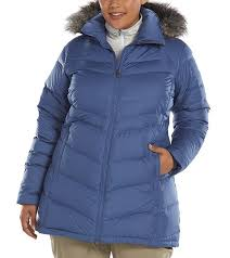 columbia women s snow beauty down puffer jacket plus size at