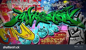 graffiti wall vector urban art stock vector 114899752 shutterstock graffiti wall vector urban art