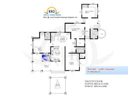 home plan and elevation 3317 sq ft architecture house plans