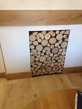 Decorative Fireplace by Decorative Fireplace Logs U0026 Stones Ebay