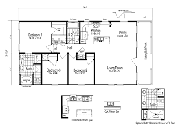 the fremont manufactured home floor plan or modular floor plans