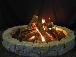 Firepit Logs Gas Pit Logs Pit Ideas