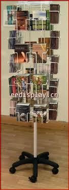 color countertop revolving greeting card display rack spinning