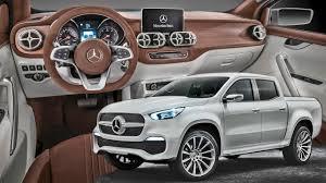 mercedes x class pickup interior