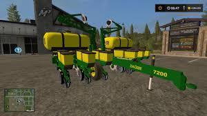 John Deere Planters by Fs17 John Deere 12 Row Seeder V1 0 Farming Simulator 2017 2015