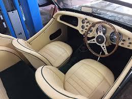 Triumph Tr3 Interior 1961 Triumph Tr3a Carn Bosavern Garage Carn Bosavern Garage
