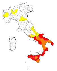 Crime Map United States by Organized Crime In Italy Wikipedia