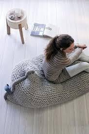 bean bag linnen style pouf reading seat bean bag chair pouf
