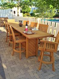 Bunnings Bar Table Splendid Teak Bar Furniture Outdoor From Benchsmith Table And