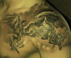 49 beautiful shoulder angel tattoos