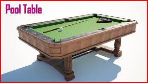 Free Pool Tables Pool Table Free 3d Model In Board Games 3dexport