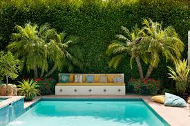 Decorating Around The Pool The Best Plants For Swimming Pool Landscaping