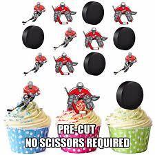 Hockey Cake Decorations Sports Cake Toppers Ebay
