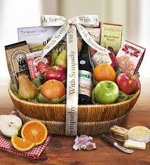 sympathy fruit baskets all our sympathy fresh fruit basket