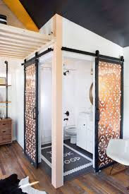 rose gold appliances tiny house bathroom shower efficiency apartment appliances how to