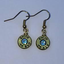 bullet stud earrings bullet earrings bullet jewelry stud earrings bullet casing jewelry