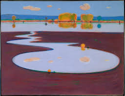 Wayne Thiebaud Landscapes by Landscapes Akron Art Museum U0027s Blog