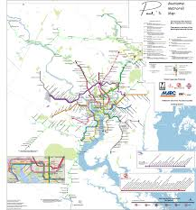 Bart System Map by Fantasy Transit Maps New York Metro Atlanta Washington