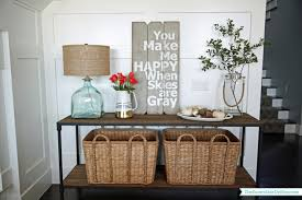 Dining Room Console Table Neutral Christmas Console Table The Sunny Side Up Blog