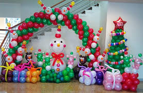 party decorations christmas balloon diy party decorations