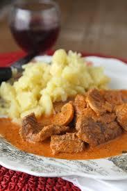 recette de cuisine du jour le plat du jour boeuf strogonoff quasi express le miam miam