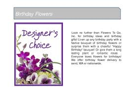 Flowers To Go Cheerful Happy Birthday Flowers Bouquet Online