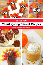easy festive thanksgiving desserts themontecristos